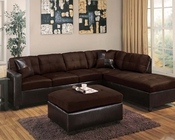 Sectional Sofa Set Milano Chocolate by Acme AC51325SET