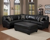 Sectional Sofa Set Minnis by Homelegance EL-9759BK-SET