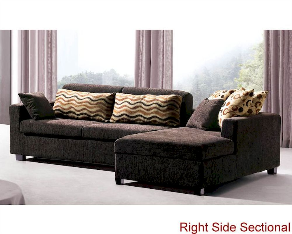 sectional sofa set with sleeper sofa and storage chaise 33ls121. Black Bedroom Furniture Sets. Home Design Ideas