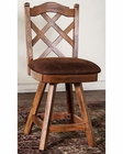 Sedona Double Crossback BarStool by Sunny Designs SU-1848RO-S