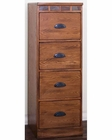 Sedona Four File Cabinet by Sunny Designs SU-2863RO-F4