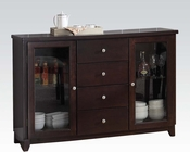 Server in Espresso Malik by Acme Furniture AC70503