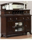 Server w/ Top with Mirror Keegan by Homelegance EL-2546-40SM