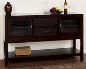 Server w/ Two Drawers Espresso by Sunny Designs SU-2446E