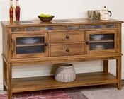 Server w/ Two Drawers Sedona by Sunny Designs SU-2446RO-D