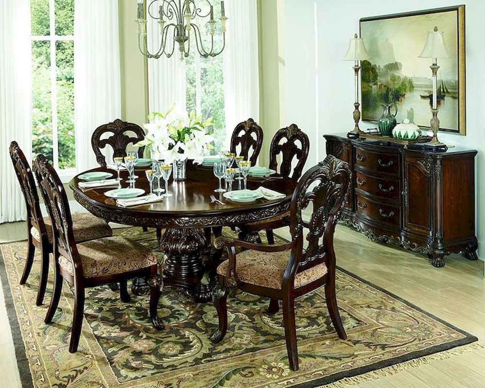 Formal Round Dining Room Sets formal round dining table