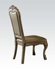 Side Chair Dresden Gold by Acme Furniture AC63153 (Set of 2)