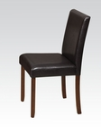 Side Chair in Cherry Trava by Acme Furniture AC70892 (Set of 2)
