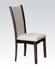 Side Chair Malik by Acme Furniture AC70502 (Set of 2)