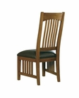Side Chair w/ Leather Seat Arts & Crafts by Hekman HE-84002 (Set of 2)
