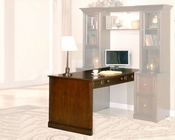 Signature Peninsula Desk in Walnut SI-343-406
