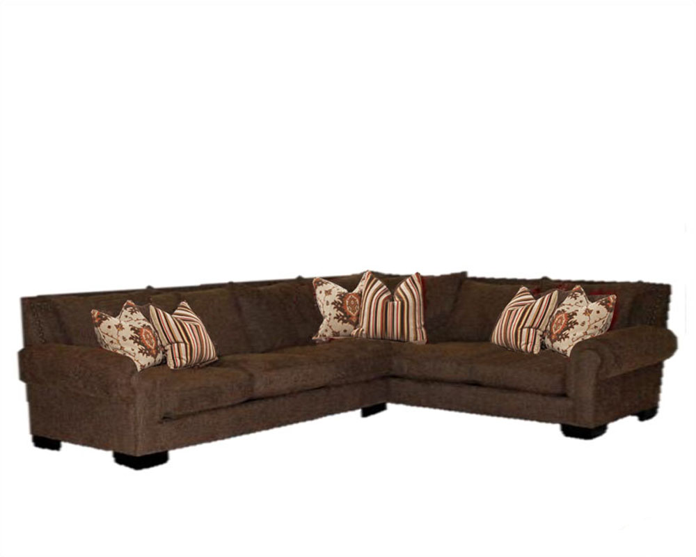 Signature traditional style sectional james sijachsset for Traditional sectional