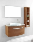 Single Vanity Set in Chestnut Anabelle by Virtu USA VU-ES-1040-Q-CH