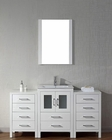 Single White Bathroom Set Dior by Virtu USA VU-KS-70060-C-WH