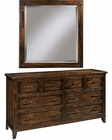 Six Drawer Dresser w/ Mirror Harbor Springs by Hekman HE-941501RH-DM
