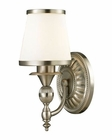 ELK Smithfield Collection 1 light bath in Brushed Nickel EK-11600-1