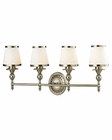 ELK Smithfield Collection 4 light bath in Brushed Nickel EK-11603-4