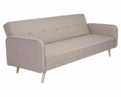 Sofa Bed in Woven Fabric Bertram by Euro Style EU-06001