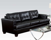 Sofa Platinum Black by Acme Furniture AC15090B