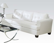 Sofa Platinum White by Acme Furniture AC15095B