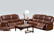 Sofa Set Fullerton Brown by Acme Furniture AC50200SET