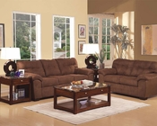 Sofa Set in Espresso Microfiber Aislin by Acme AC50380SET