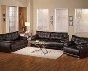 Sofa Set in Espresso Terrence by Acme Furniture AC51740SET