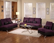 Sofa Set Jolie Purple by Acme Furniture AC51750SET