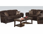 Sofa Set Patricia Chocolate by Acme Furniture AC50950SET