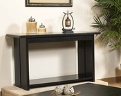 Sofa Table in Black Finish Ebony by Somerton SO-624-05