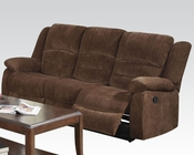 Sofa w/ Motion Bailey Dark Brown by Acme Furniture AC51025