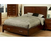 Solitude Contemporary Bed by Ayca AY-17-32Bed