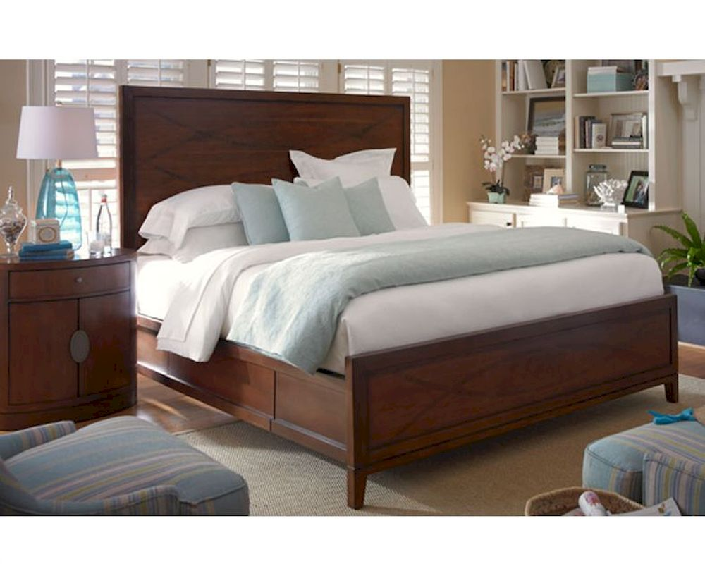 Somerton Dwelling Bedroom Set W Panel Bed Claire De Lune