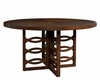 Somerton Dwelling Contemporary Dining Table Claire de Lune SO-801-61