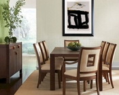Somerton Dwelling Dining Set w/ Large Table Well Mannered SO-803-64SET