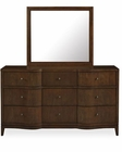 Somerton Dwelling Dresser w/ Mirror Claire de Lune SO-801-92-93