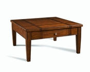 Somerton Dwelling Square Cocktail Table Runway SO-140-06