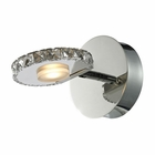 ELK Spiva Collection 1 light bath in Polished Chrome EK-54000-1