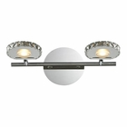 ELK Spiva Collection 2 light bath in Polished Chrome EK-54001-2