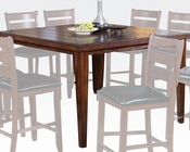 Square Counter Height Table Urbana Cherry by Acme AC00680