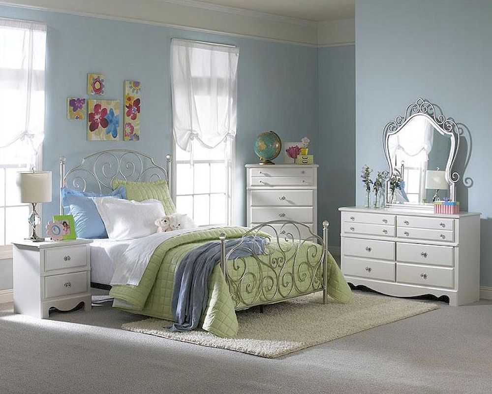 Standard Furniture Bedroom Set Spring Rose St 50283s