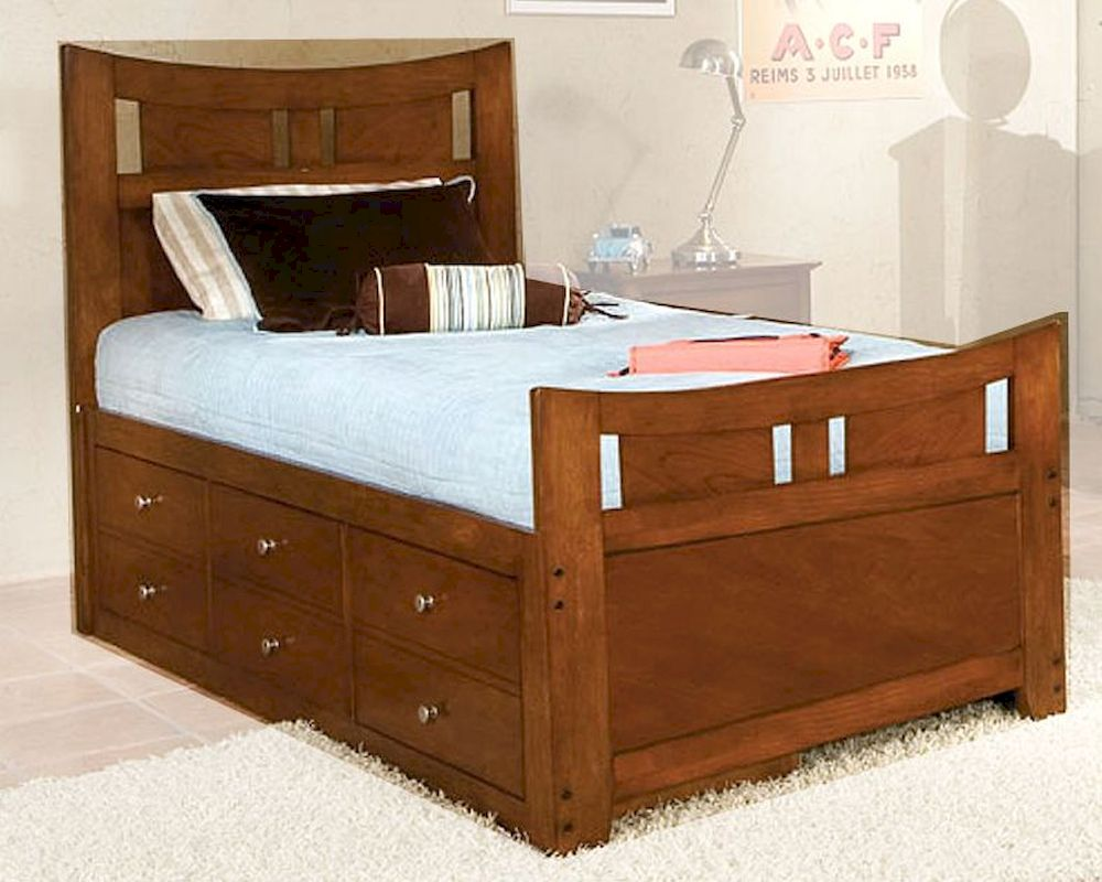 Standard Furniture Captain S Bed Village Craft St 95850ct