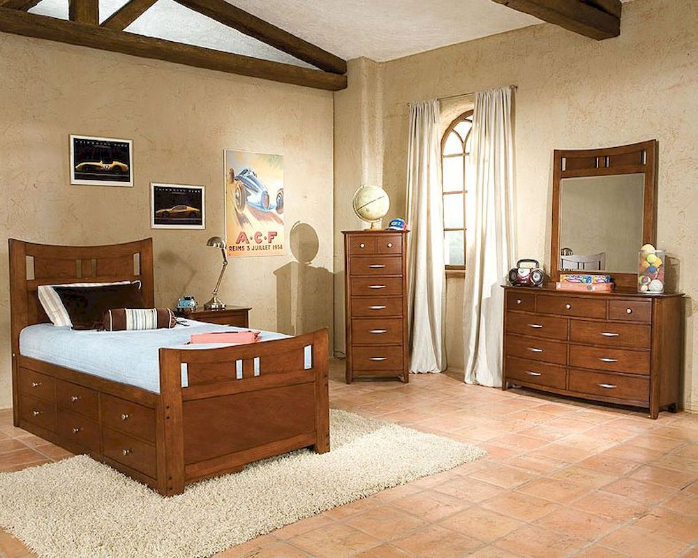 Standard Furniture Captain 39 S Bedroom Set Village Craft St 95850c