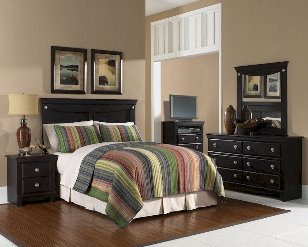 Standard Furniture Carlsbad Panel Bedroom Set St 50403setdr