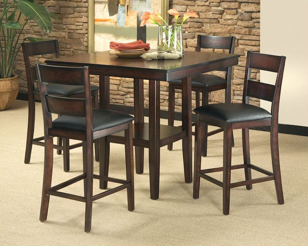 Standard furniture counter height dining set pendleton st for Counter height dining set