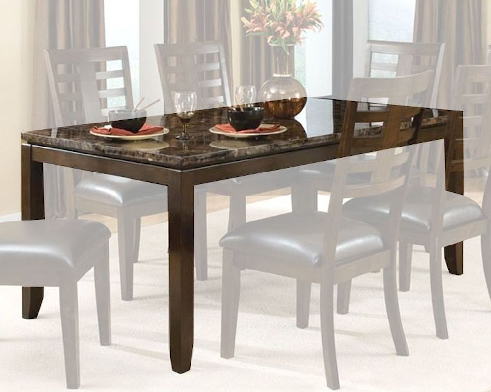 Standard furniture dining table bella st 16841 for Standard dining table