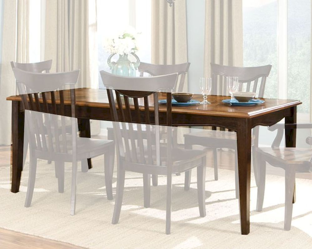 Standard furniture dining table normandy st 18961 for Standard dining table