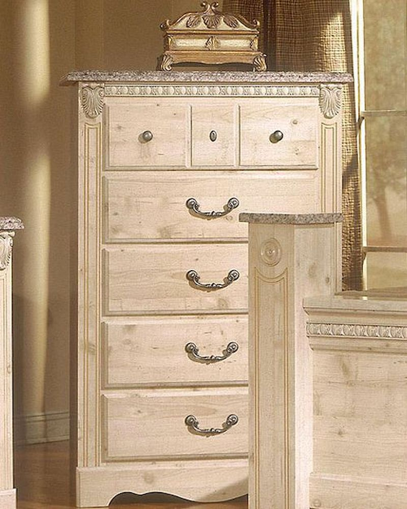 Standard furniture drawer chest seville st 6405 for Seville bedroom furniture