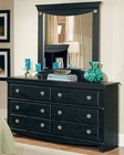Standard Furniture Dresser & Mirror Carlsbad ST-50409-18
