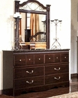 Standard Furniture Dresser & Mirror Sorrento ST-4029-18